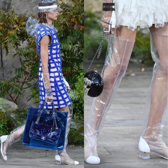 最实穿的PVC透明单品,就在这一季的DAPHNE达芙妮
