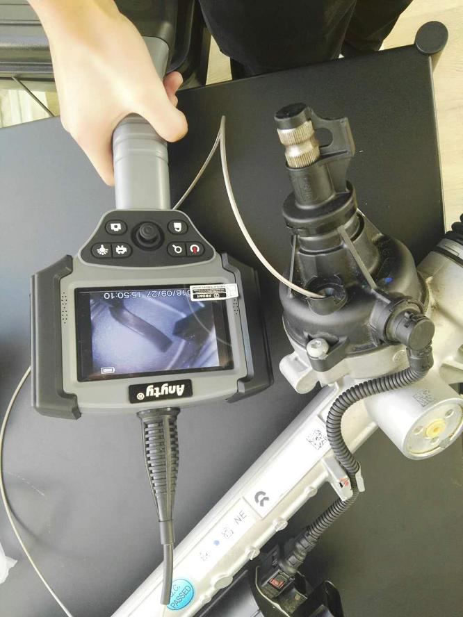 Anyty[艾尼提]便携式光电内窥镜解决焊接检测难题