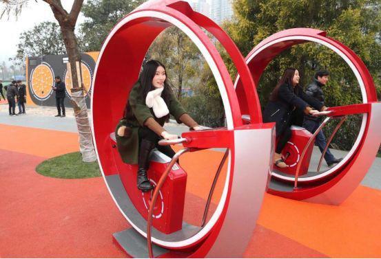 科技运动助力成都江滩公园改造升级