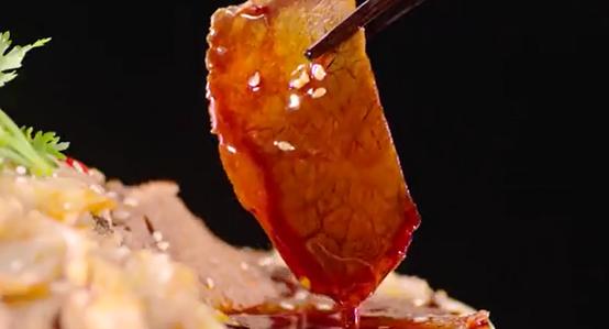 紫燕百味雞酸湯味夫妻肺片,令人直呼酸爽到炸!