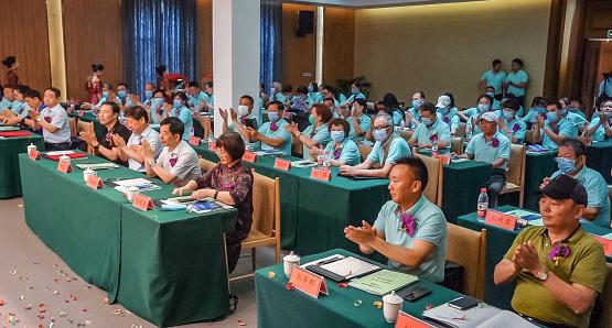那香海康养学院与威海群众艺术馆战略合作签约仪式暨2020年度康养学院开学典礼隆重举行