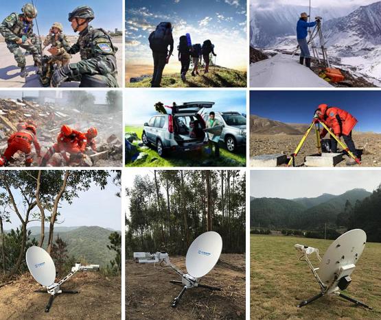 户外应急卫星通信解决方案 天海世界全自动便携卫星WiFi设备面世