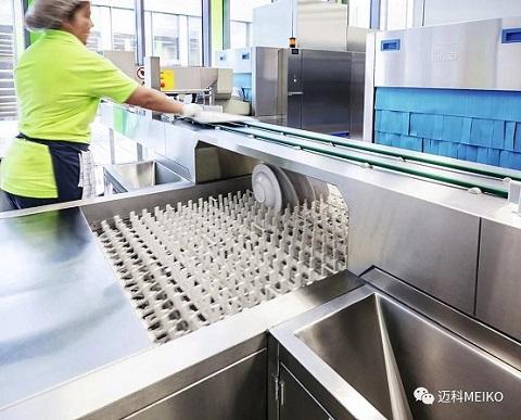 迈科教你如何选择商用洗碗机,效益高更省钱!