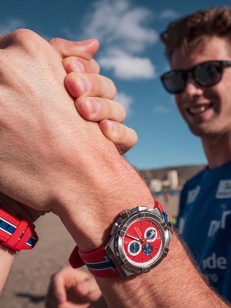 当沙滩排球遇上腕表,2021年艾美隆重呈现推出AIKON系列限量腕表