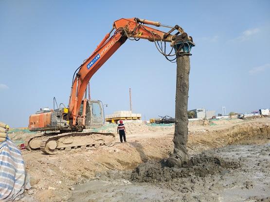 污泥处理全新科技:弈晨环境软土原位固化/修复系统