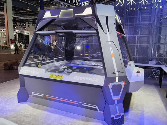 BATTLEACE掀起WAIC科技實體競技,看玄智格斗機器人如何燃動全場