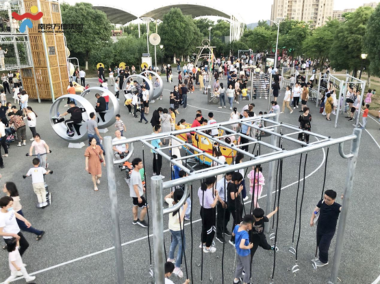 南京万德集团创新升级溧水区体育公园,助力全民健身